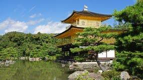 Kinkaku ji, złota świątynia w Kyoto Zdjęcia Stock
