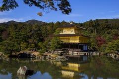 Kinkaku-kinkaku-ji, ο χρυσός Στοκ Εικόνες