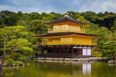 Kinkaku-kinkaku-ji στο Κιότο, Ιαπωνία Στοκ εικόνα με δικαίωμα ελεύθερης χρήσης