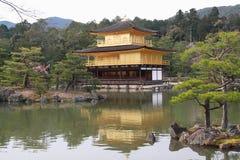 Kinkaku -kinkaku-ji Royalty-vrije Stock Foto
