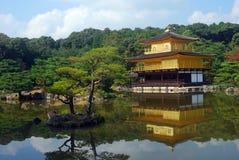 kinkaku kyoto ji японии Стоковая Фотография