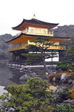 kinkaku kyoto ji японии стоковые изображения rf