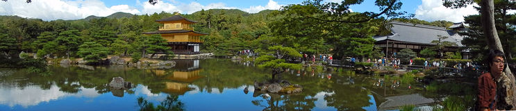 Kinkaku Temple, Kyoto, Japan Stock Photo