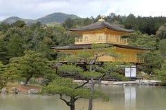 Kinkakuji在京都 库存照片