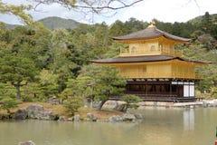 Kinkakuji在京都 免版税库存图片