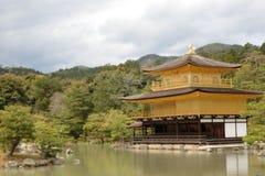 Kinkakuji在京都 图库摄影
