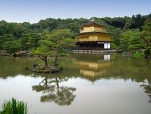kinkakuji寺庙 免版税库存图片
