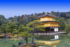 Kinkakuji świątynia Zdjęcie Stock