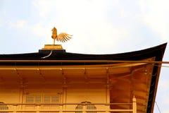 Kinkakuji Świątynny Złoty pawilon przy Kyoto Japonia Zdjęcie Royalty Free