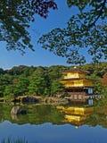 kinkakuji Κιότο της Ιαπωνίας Στοκ Φωτογραφία