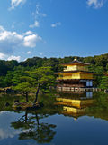 kinkakuji Κιότο της Ιαπωνίας Στοκ εικόνες με δικαίωμα ελεύθερης χρήσης