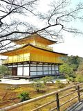 Kinkakuji, Киото Стоковые Фотографии RF