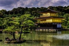 Kinkakuji Images libres de droits