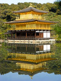 Kinkakuji. Shot of Kinkakuji with a perfect reflection in the pond Royalty Free Stock Images