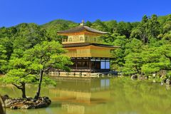 Kinkakuji Imagem de Stock Royalty Free