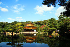 Замок Kinkakuji Стоковое Изображение