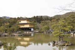 Kinkakuji Royalty-vrije Stock Afbeeldingen