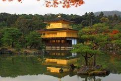 Kinkakuji - der berühmte goldene Pavillion in Kyoto Stockfoto