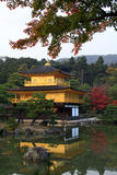 Kinkakuji  - the famous Golden Pavilion at Kyoto Stock Photography