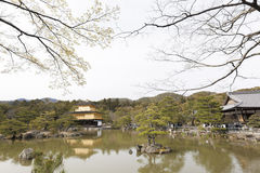 Kinkakuji. The golden palace of Kyoto (Kinkakuji Stock Images