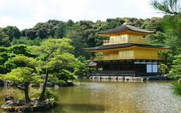Kinkakuji (Golden Pavilion) in Japan Stock Photos