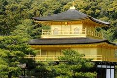 Kinkakuji, Golden Pavilion; Kyoto, Japan. Temple of the Golden Pavilion, also known as Kinkaku-ji or Rokuon-ji, Northern Kyoto, Japan, closeup Royalty Free Stock Photography