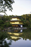 Kinkakuji, Golden Pavilion at Kyoto, Japan. Royalty Free Stock Photo