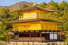 Kinkakuji (Golden Pavilion), Kyoto, Japan. Stock Photos