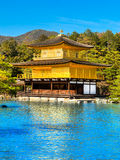 Kinkakuji (Golden Pavilion), Kyoto, Japan. Stock Images