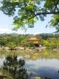 Kinkakuji Golden Pavilion Kyoto Royalty Free Stock Photo