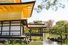 Kinkakuji (Golden Pavilion) is Old Japanese golden castle, Kinka Stock Image