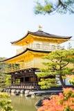 Kinkakuji (Golden Pavilion) is Old Japanese golden castle, Kinka Stock Photography