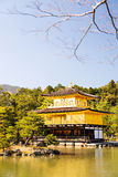 Kinkakuji (Golden Pavilion) is a Zen temple in northern Kyoto Royalty Free Stock Photography