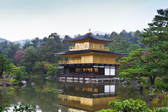 Kinkakuji (Golden Pavilion) Royalty Free Stock Image