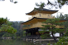 Kinkakuji (Golden Pavilion) Royalty Free Stock Photos