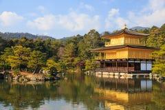 Kinkakuji (Golden Pavilion) is a Zen temple Royalty Free Stock Photos