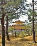 Kinkakuji or Golden Pavillion. Kyoto, Japan Royalty Free Stock Images