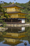 Kinkakuji the golden pavillion. Kyoto. Japan. With detail Royalty Free Stock Images