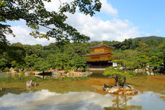 Kinkakuji - The Golden Pavillion, Kyoto, Japan Stock Image