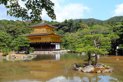 Kinkakuji - The Golden Pavillion, Kyoto, Japan Stock Images