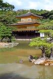 Kinkakuji - The Golden Pavillion, Kyoto, Japan Royalty Free Stock Images