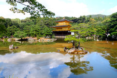 Kinkakuji - The Golden Pavillion, Kyoto, Japan Royalty Free Stock Images