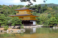 Kinkakuji - The Golden Pavillion, Kyoto, Japan Royalty Free Stock Photography