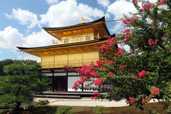Kinkakuji - The Golden Pavillion, Kyoto, Japan Royalty Free Stock Photos