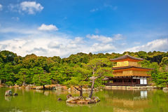 Kinkakuji Golden Temple Kyoto Japan Stock Photos