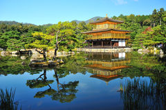 KINKAKUJI GOLDEN TEMPLE Royalty Free Stock Photos