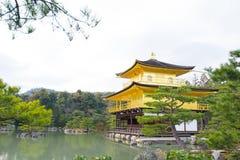 Kinkakuji or Golden Temple in winter, Kyoto, Japan Stock Images