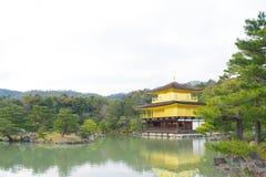 Kinkakuji or Golden Temple in winter, Kyoto, Japan Royalty Free Stock Image