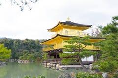 Kinkakuji or Golden Temple in winter, Kyoto, Japan Royalty Free Stock Photo