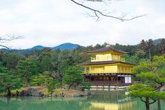 Kinkakuji or Golden Temple in winter, Kyoto, Japan Stock Image